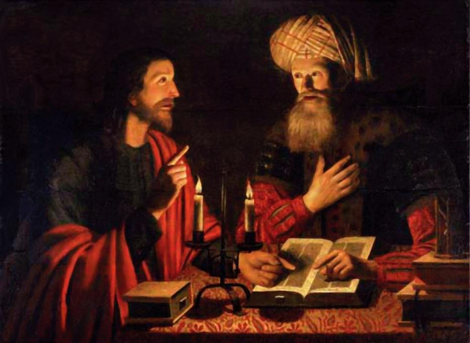 Christ Instructing NicodemusCrijn Hendricksz, 1604